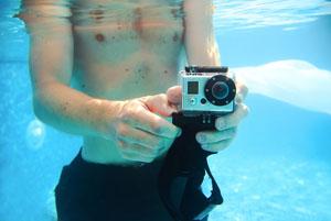 Sportowa kamera pod wodą
