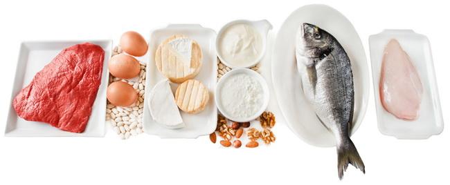 Podstawowe składniki diety Dukana