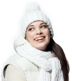 jak dbać o włosy w zimie