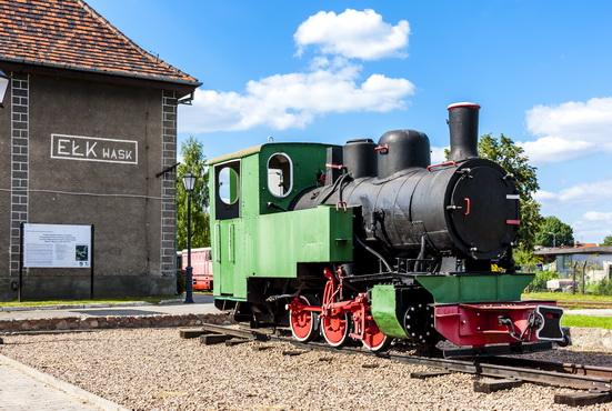 Kolej wąskotorowa - Ełk