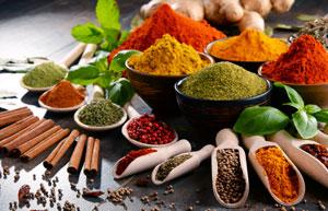 Przyprawy i zioła w diecie