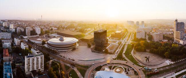 Katowice - błyskawicznie rozwijające się śląskie miasto