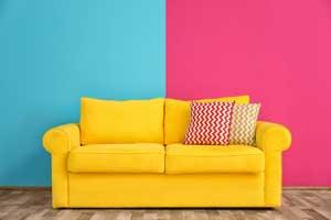 łączenie kolorów ścian
