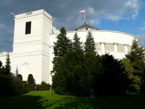 Gmach Sejmu w Warszawie