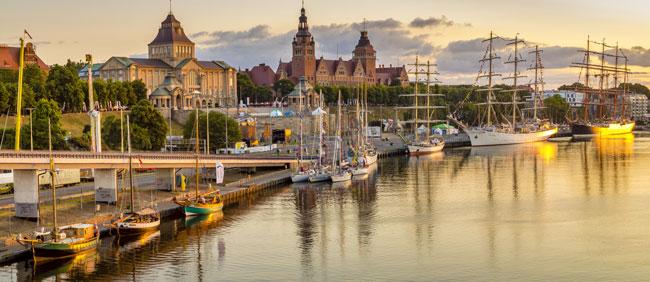 Szczecin - jedno z najbardziej zielonych miast w Polsce