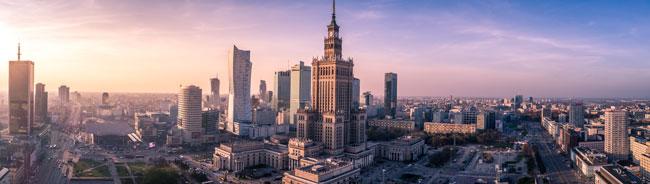 Warszawa - stolica Polski i największe miasto w kraju