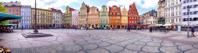 Wrocław - miasto mostów i krasnali