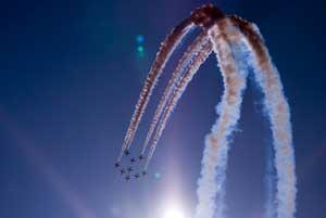 zdjęcia z pokazów lotniczych