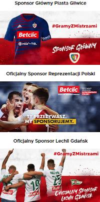 Betclic - sponsor sportu