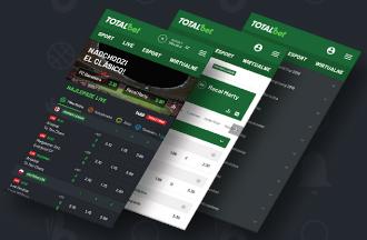Totalbet - aplikacja mobilna