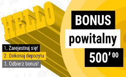 Totolotek - bonus powitalny