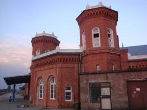 Dworzec kolejowy Kostrzyn nad Odrą