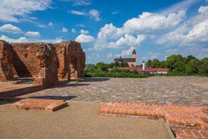 Ruiny zamku w Sochaczewie