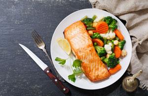 Źródło białka w kolacji