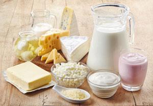 Produkty mleczne o niskiej zawartości tłuszczu