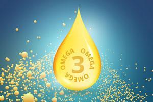 Kwas alfa-linolenowy z grupy kwasów tłuszczowych omega-3