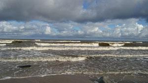 Plaża Wschodnia w Ustce