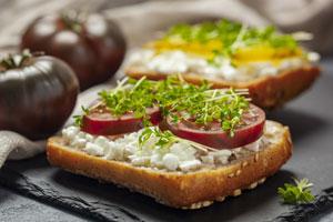 Śniadanie wegetariańskie