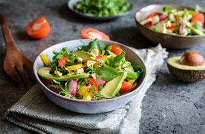 Zdrowa kolacja z warzywami