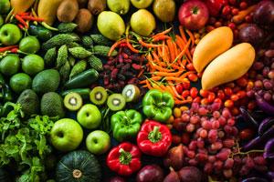 Owoce i warzywa - 2 poziom piramidy