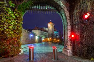Wejście na Wawel