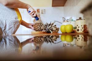 Ananas sposobem na mdłości w ciąży