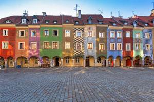 Domki budnicze na Starym Rynku