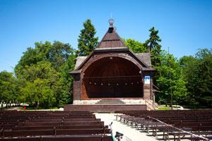 Muszla Koncertowa w Parku Zdrojowym