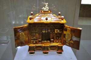Eksponat w Muzeum Bursztynu