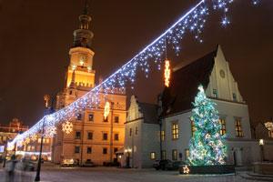Poznań zimą