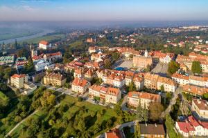 Panorama Sandomierza