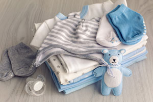 Standardowe ubranka dla noworodka